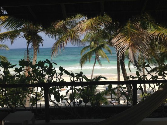 The Beach Tulum: View from the room
