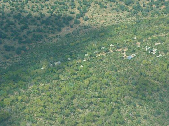 Ghoha Hills Savuti : Aerial view