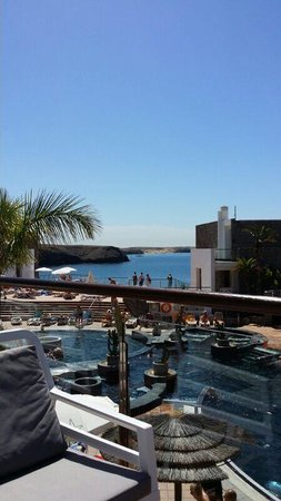 The Mirador Papagayo Hotel: View from the lobby bar