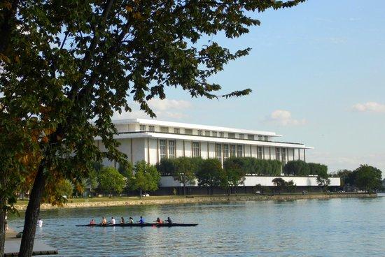 Washington Harbour: remeros