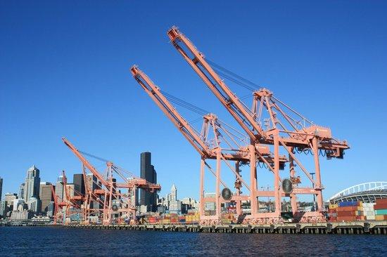 Argosy Cruises - Seattle Waterfront : Downtown Seattle from Argosy Cruise