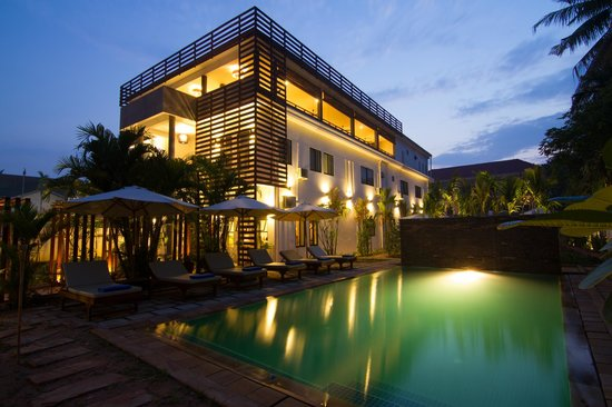 Mudra Angkor Boutique Hotel: Nice Pool