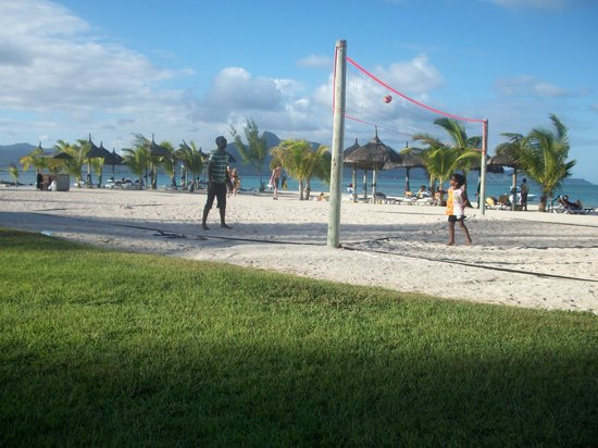 Preskil Beach Resort: Le terrain de Beach