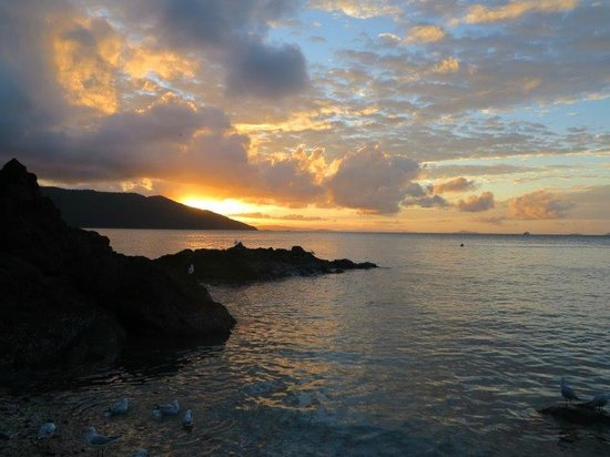 Daydream Island Resort & Spa : Sunset at Lovers Cove