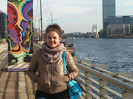 nhow Berlin : Набережная около отеля