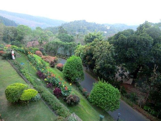 Amaya Hills: ホテル庭