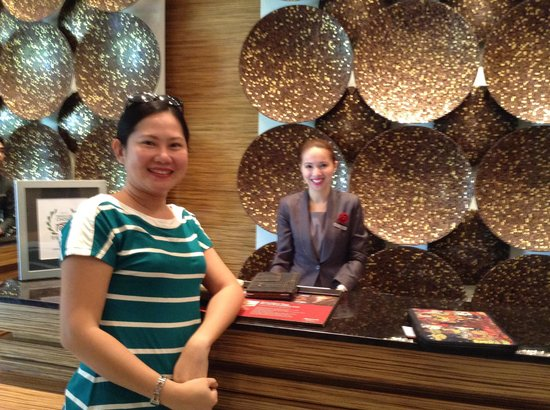 Manila Marriott Hotel: Checking in and out were a breeze