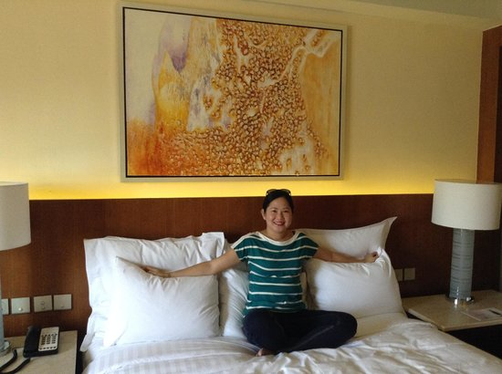 Manila Marriott Hotel: Comfy Bed