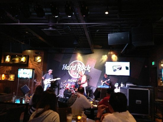 Hard Rock Cafe : ライブ