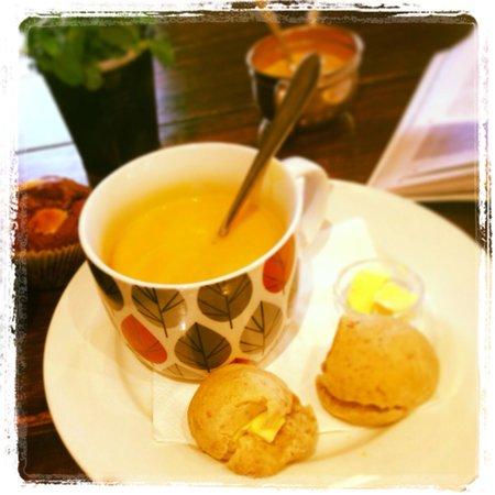 Dinner Plain, Australien: Pumpkin soup xxx