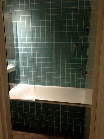 The Oasis Resort & Treetop Houses: Main bathroom.