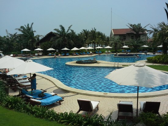 Palm Garden Beach Resort & Spa: nearby Beach cafe