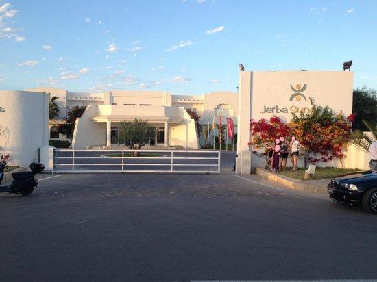 Playa Sidi Mehrez, Tunisia: entrée de l'hôtel