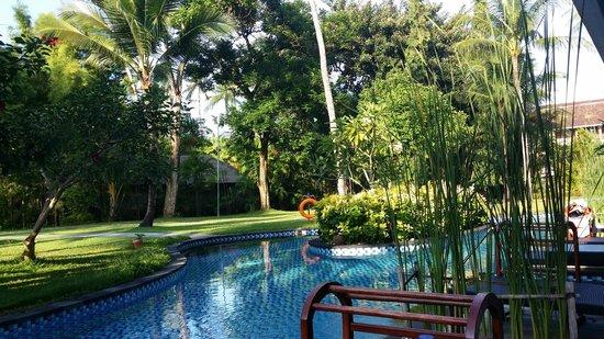 Melia Bali Indonesia : outside suite