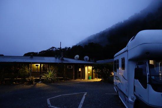 Milford Sound Lodge: Milford Sound Campervan 1