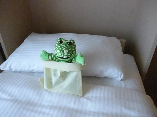 Shangri-La's Rasa Sentosa Resort & Spa: Frog Toy !