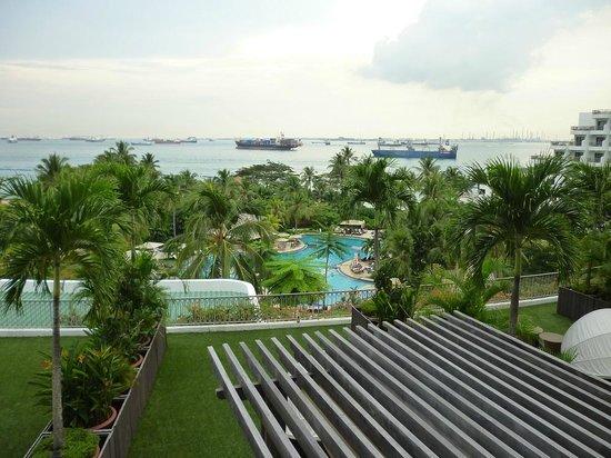 Shangri-La's Rasa Sentosa Resort & Spa: View from our room
