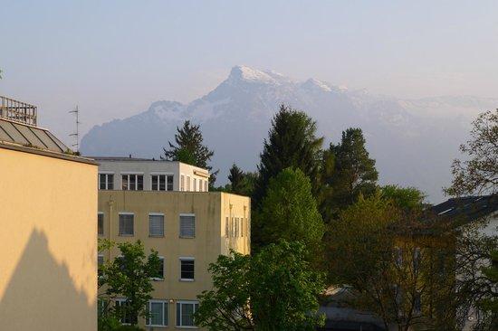 Junior Hotel: Gasthof Junior - Sicht auf den Bergen von unserem Zimmer
