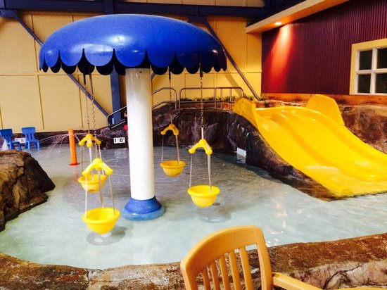 Silver Rapids Indoor Waterpark: Pollywog pond. Great for babies and toddlers!