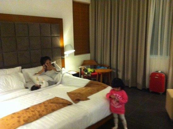 Fontana Hotel Bali: our superior room