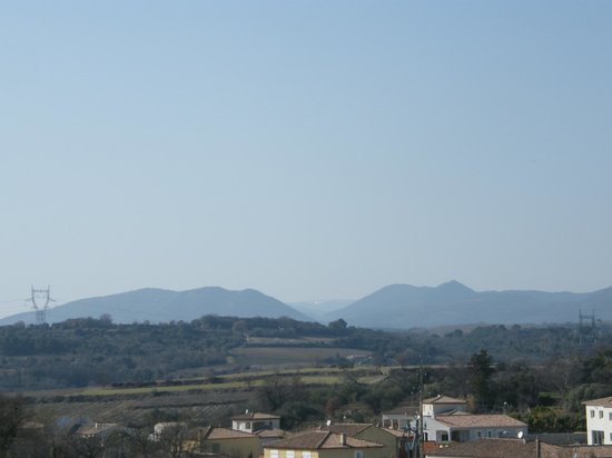 Le Cerisier : View from roof terrace