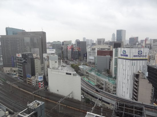 remm Hibiya: view from the room (18th floor)