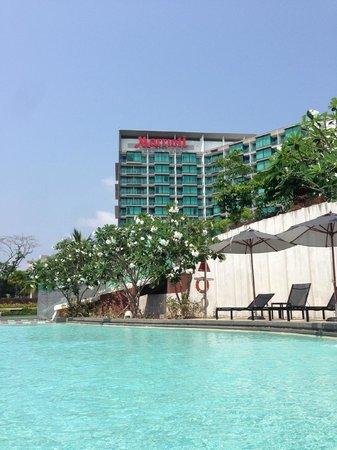 Rayong Marriott Resort & Spa: Pool View