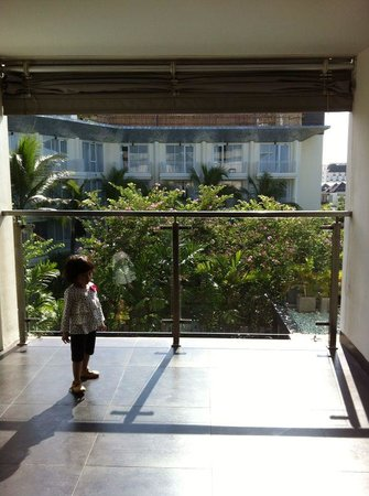 Fontana Hotel Bali: view from 2nd floor