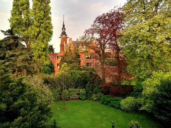 Hostellerie Pannenhuis : Вид из окна - номер 21