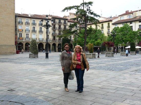 F&G Logrono : En la Plaza del Mercado