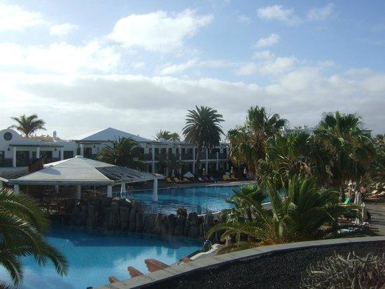 Las Marismas de Corralejo: view from reception area