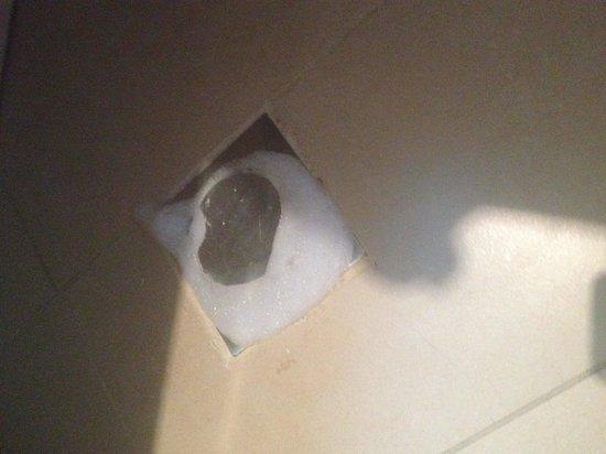 Marina Byblos Hotel : Bit of sewage in the bathroom