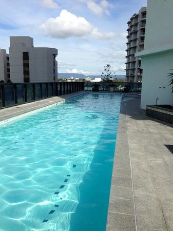 Mantra Circle on Cavill: Lap pool in the South Tower