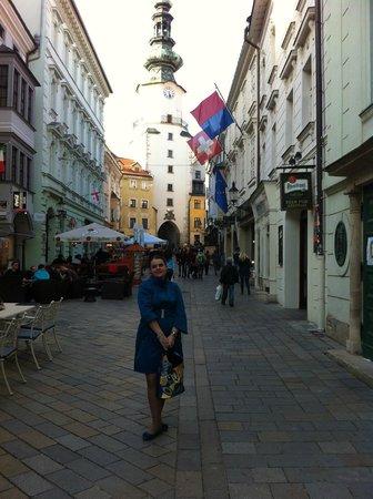 Altstadt: Одна из центральных улочек Старого города.