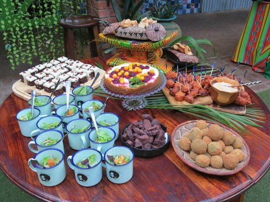 The Africa Cafe's take on traditional food