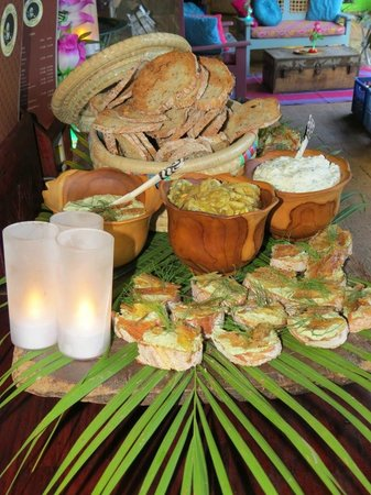 The Africa Cafe: Canape's with a difference