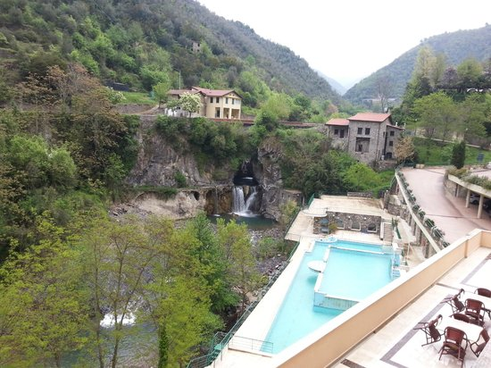 Grand Hotel Pigna Antiche Terme : Vista dalla camera 122
