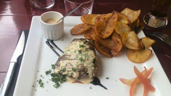 venta gaxuxa : Pavé de boeuf sauce foie gras