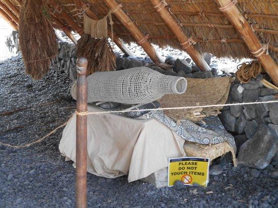 Pu'uhonua O Honaunau National Historical Park : hutte 2