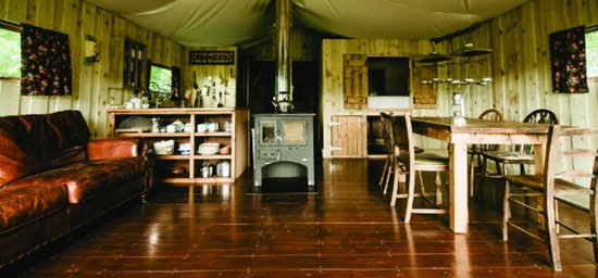 Berridon Farm: Fully equipped tent