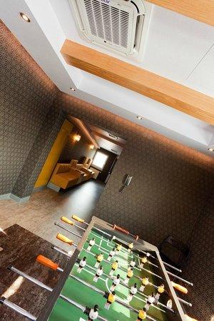 Piaskowy Hotel: Salon gier w Hotelu Piaskowym