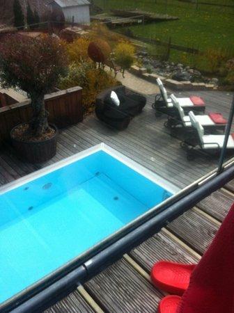 Hotel Das Ruebezahl: Blick auf dem Pool