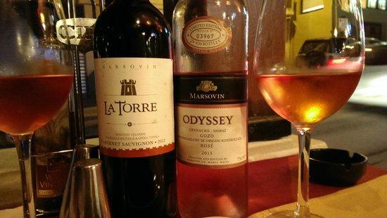 Gozitan: Wines