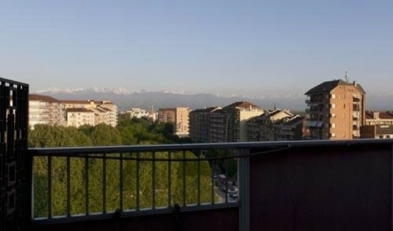 Hotel Miramonti : The Alps mountain from the room's terrace