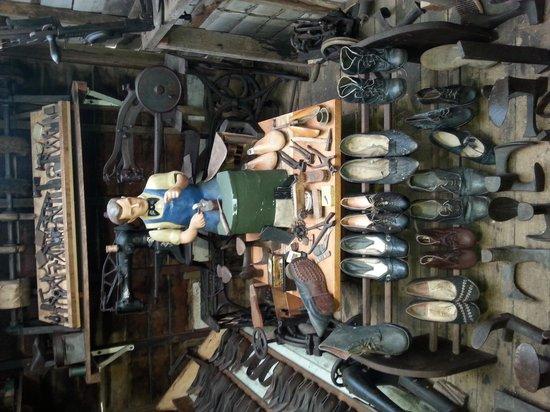 Historic Village Herberton: shoemaker