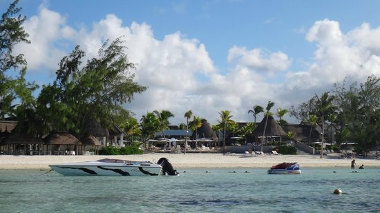Ambre Mauritius: Resort from the sea