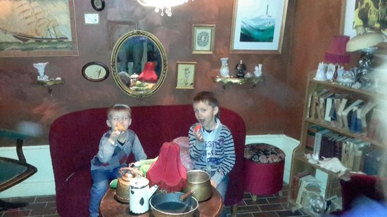 Junibacken: Inside mummy's house