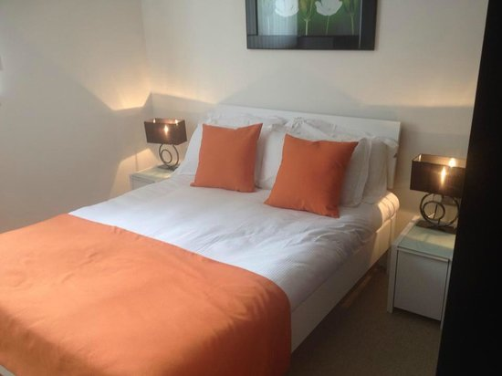 Apple Serviced Apartments Greenwich: Bedroom 2