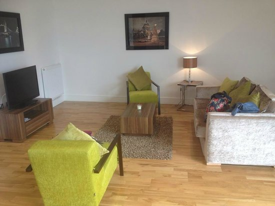 Apple Serviced Apartments Greenwich: Lounge