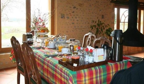 Gites et Chambres d'Hotes Ducoq : Le petit-déjeuner